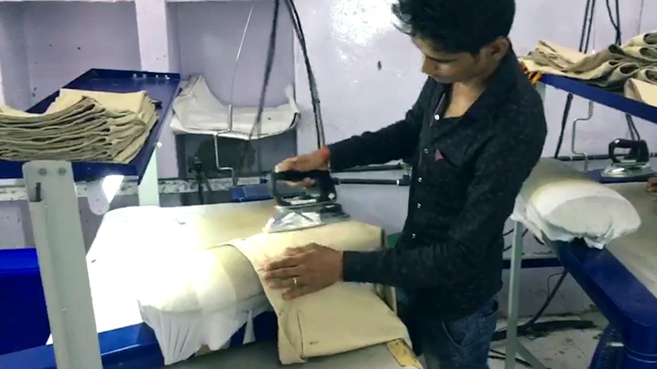 Ironing of Garments